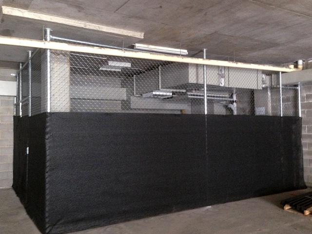 Chain mesh cage - Mentone
