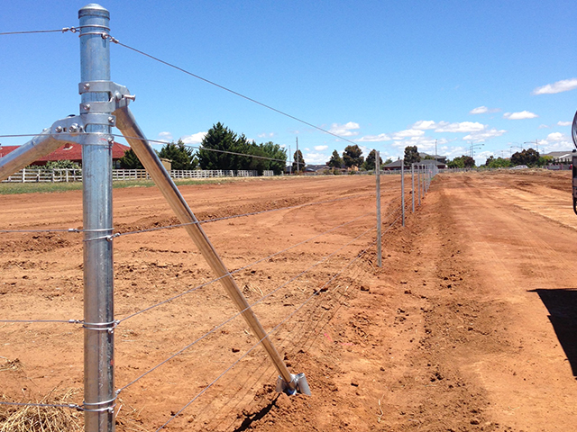 Post & Wire Fencing, Point Cook