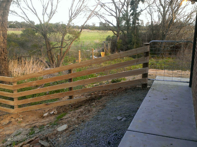 Post & Rail Fence Berwick
