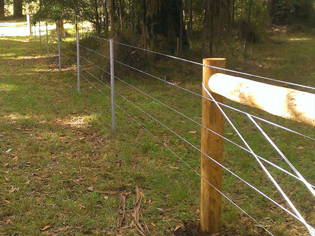 Post & Wire Fencing - Mount Evelyn