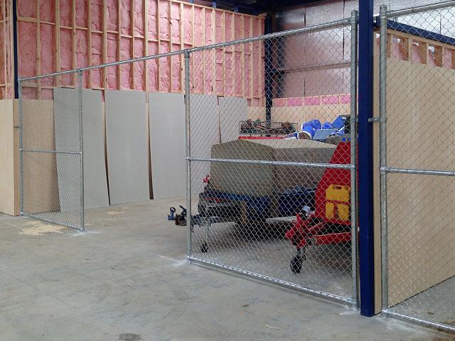Warehouse Chain Mesh Partitions Melbourne Victoria