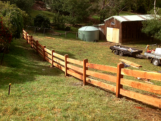 Post & Rail Fencing, Warrandyte