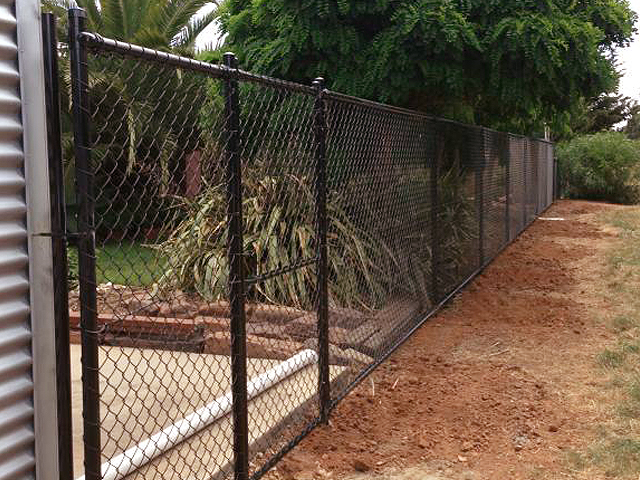 Chain mesh fencing wright contracting