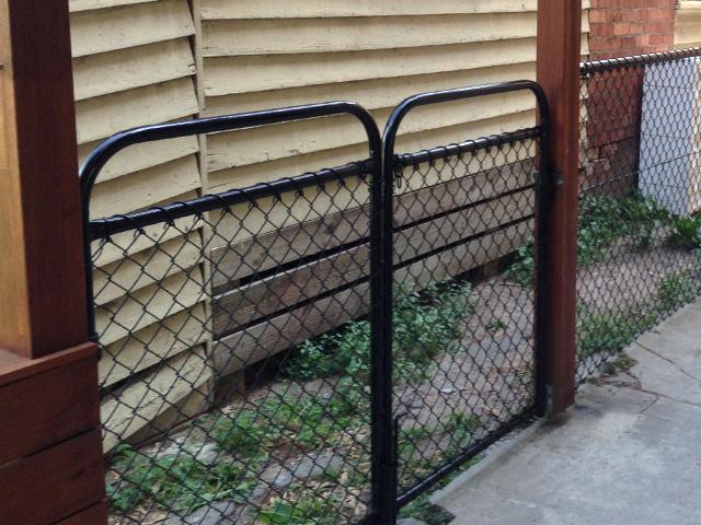 Chain Mesh Gates, Melbourne, Victoria