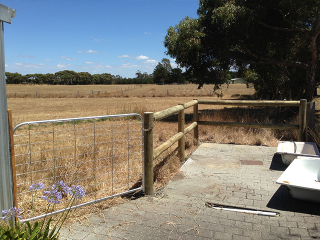 Post & Rail Fencing - Sunbury