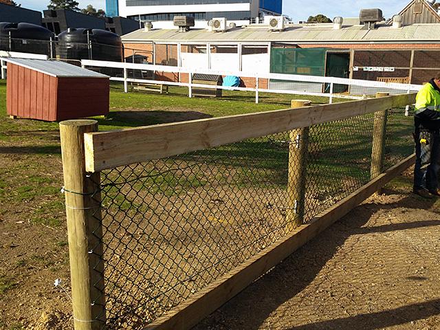Post Amp Rail Fencing Burwood Melbourne Victoria Wright